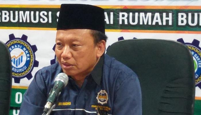 Presiden DPP K Sarbumusi NU Syaiful Bahri Anshori - Sarbumusi: Meski Masa Pandemi Covid-19, Perusahaan Wajib Bayar THR