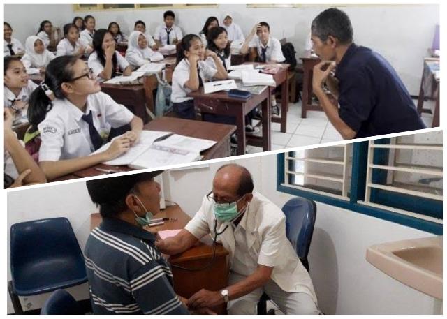 memuliakan guru dan dokter