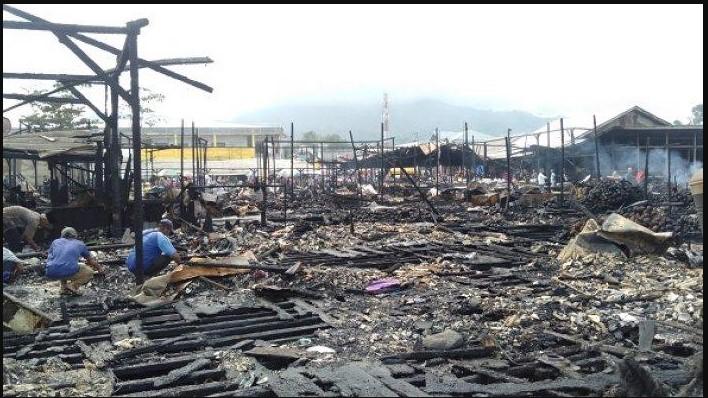 Kebakaran di kotabaru - Sebar Mahasiswa di 6 Titik, Ormawa Unukase Gelar Aksi Peduli