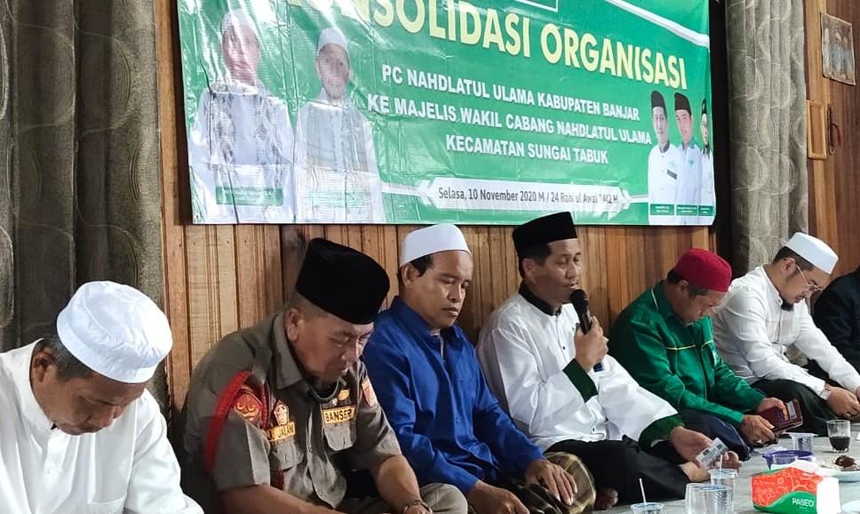 IMG 20201110 WA0087 1 - Ketua PCNU Banjar: Jangan Bawa Organisasi NU Ke Perhelatan Politik Praktis