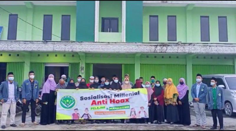 IMG 20201225 WA0085 800x445 - IPNU Banjarbaru Deklarasikan Gerakan Milenial Anti Hoax