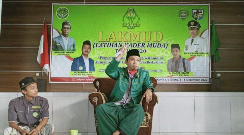 Screenshot 20201205 194049 1 800x445 - Lakmud IPNU di Tapin, Ini yang Disampaikan Ustadz Khairullah Zain