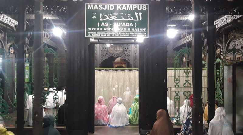 IMG 20210101 WA0030 800x445 - Tutup 2020, Masjid Kampus Unukase Gelar Sholat Hajat dan Tahlil