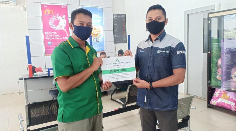 IMG 20210209 WA0023 800x445 - GP Ansor Tapin Bantu Rekanita IPPNU Alabio yang Tertimpa Musibah