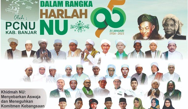 harlah nu ke 95 PCNU Banjar. Banua.co