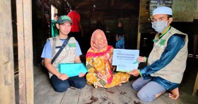 IMG 20210319 WA0006 1 390x205 - Pasca Banjir, LAZISNU Banjar Masih Salurkan Bantuan
