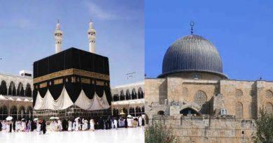 kiblat umat islam 390x205 - Perpindahan Kiblat Shalat Umat Islam, Memahami Arti Sebuah Kebajikan