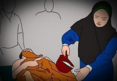 Isteri Memandikan Jenazah Suami, Apa Hukumnya?