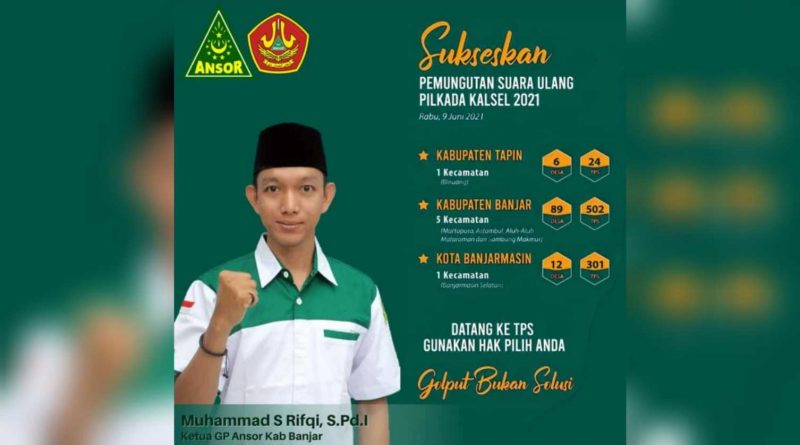 1623126292262 800x445 - PSU Pilgub Kalsel, Ini Instruksi PC GP Ansor Banjar Kepada Kadernya