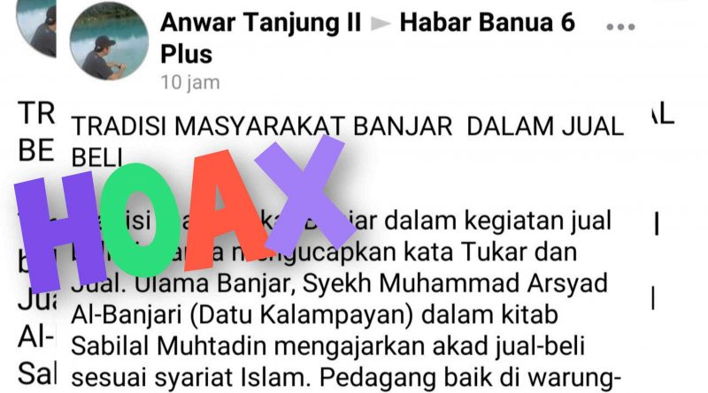 1624914834454 800x445 - Viral, Informasi Hoaks Mencatut Nama Syekh Muhammad Arsyad Al Banjari
