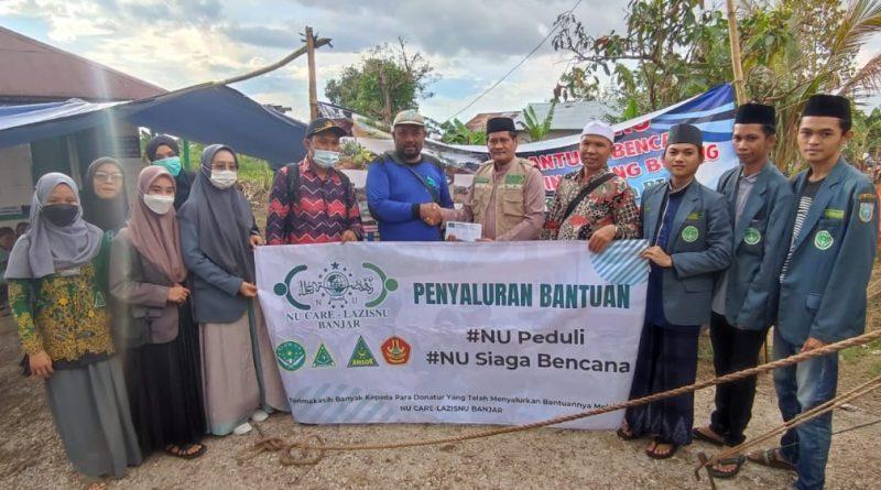 IMG 20210618 WA0038 1 800x445 - Peduli Korban Angin Puting Beliung, PCNU Banjar Salurkan Bantuan