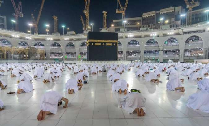 Ilustrasi Haji. Foto-Reuters