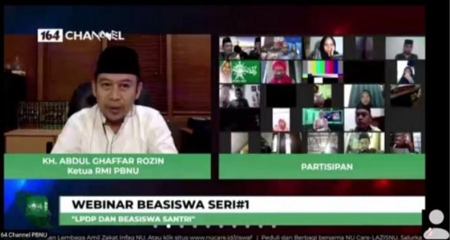 RMI2 - Bahas Beasiswa Santri, Ketua RMI Banjarbaru Kunjungi Ketua Umum PP RMI PBNU
