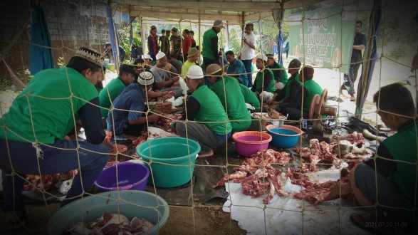1626870558930 - Kurban Puluhan Sapi, HPN Kalsel Peduli Warga Terdampak Pandemi